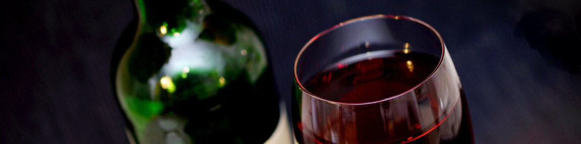 Why is the glass of red wine in the evening is good for brain and soul?